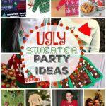 Ugly Christmas Sweater Decor