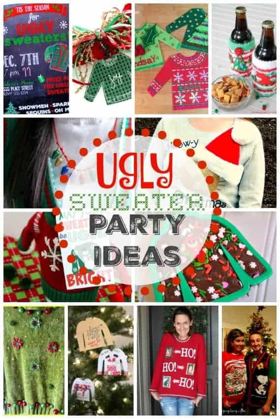 Ugly Christmas Sweater Decor