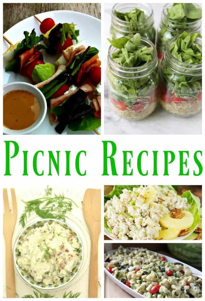 Salad recipes for picnics, outings and beach days
