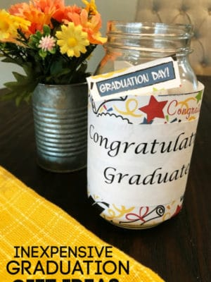 INEXPENSIVE graduation gift ides