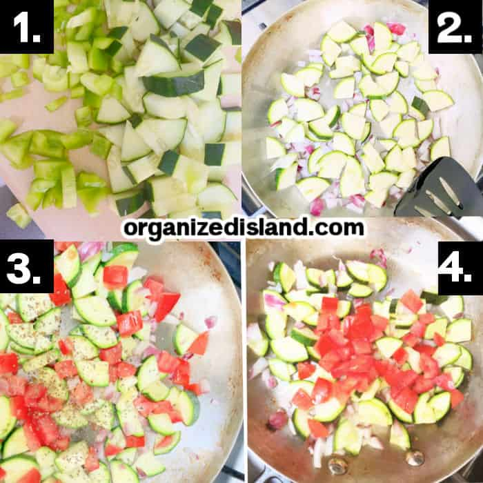 How to MakeSautéed Zucchini and Tomatoes