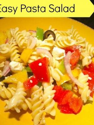 Easy-Pasta-Salad