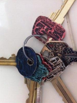 Color coding your keys