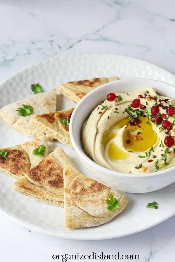 Easy Homemade Hummus Appetizer Recipe