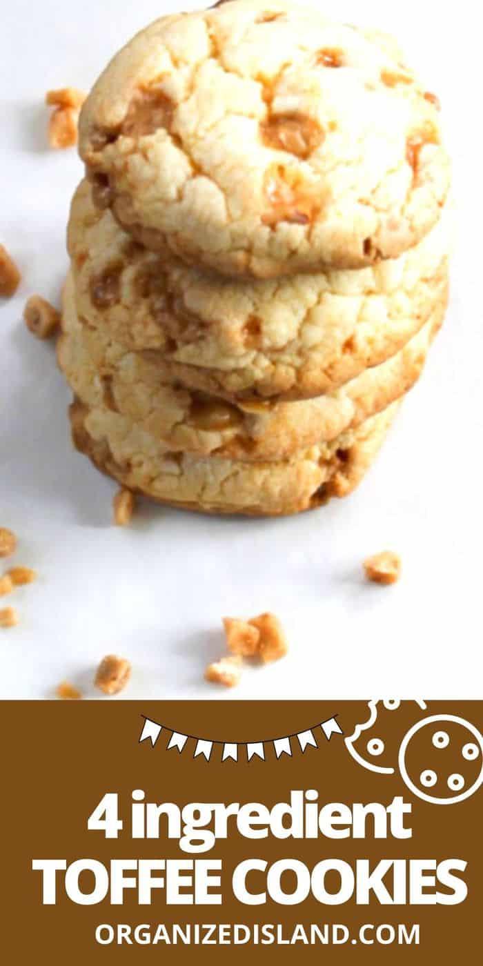 Simple Toffee Cookies