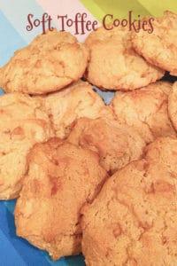 soft toffee cookies