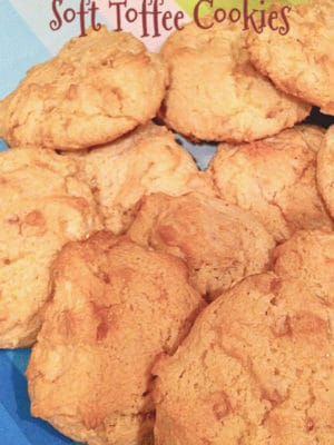 soft toffee cookies