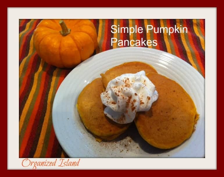 Pumpkin Pancakes - Hello Fall!