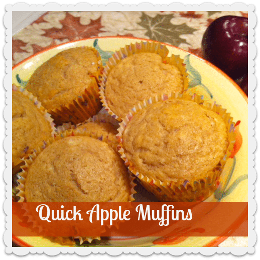 Quick Apple Muffins