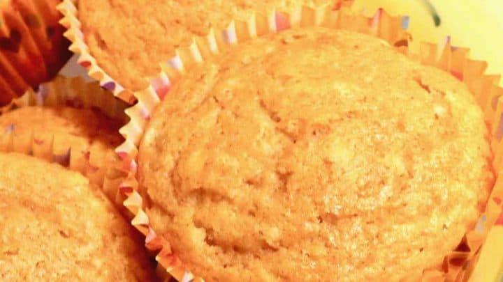 simple apple muffins