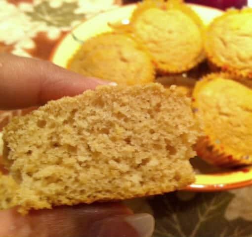 fluffy apple muffin