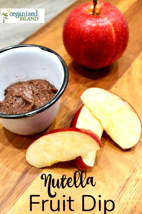 nutella dip for fruit recipe for apple dip