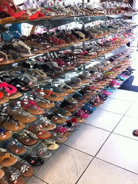 inexpensive shoes, where to shop in LA