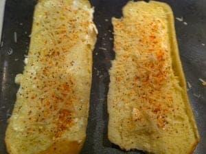 Garlic bread Salad Supreme