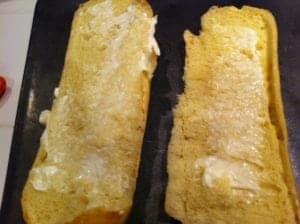 Garlic bread mayo