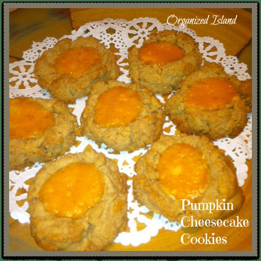 Pumpking-Cheesecake-Cookies