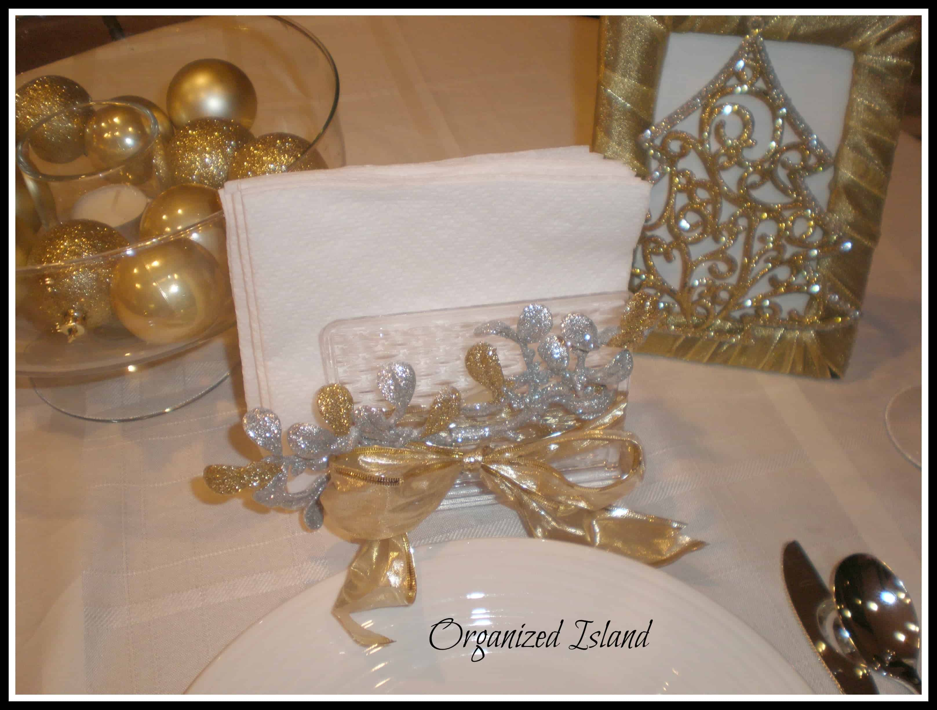 Christmas Decorating Ideas Dollar Tree : Dollar store christmas decorations gold and silver