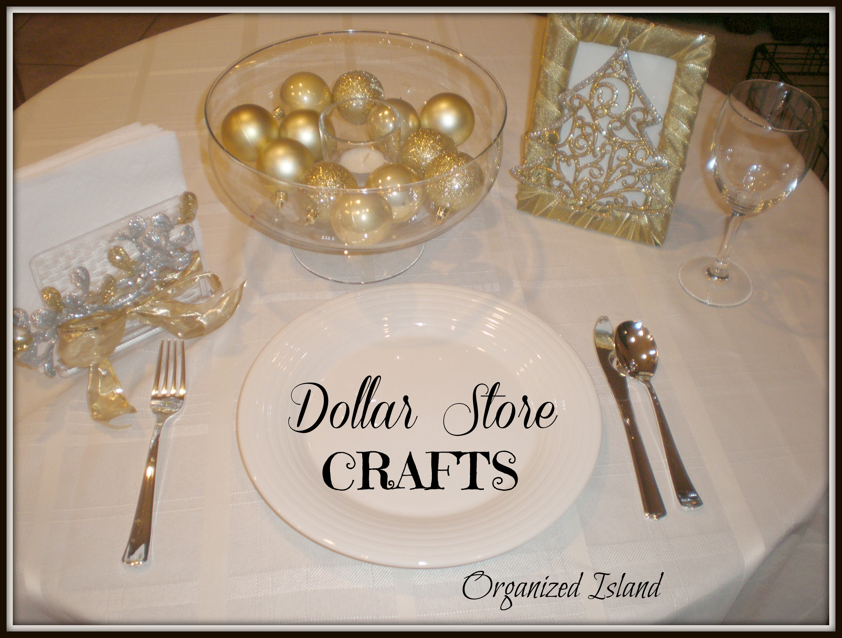 what - Dollar Store Christmas Crafts