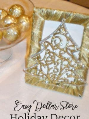 Gold and Silver Holiday Decor Cheap