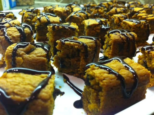 Pumpkin Blondies Yum!