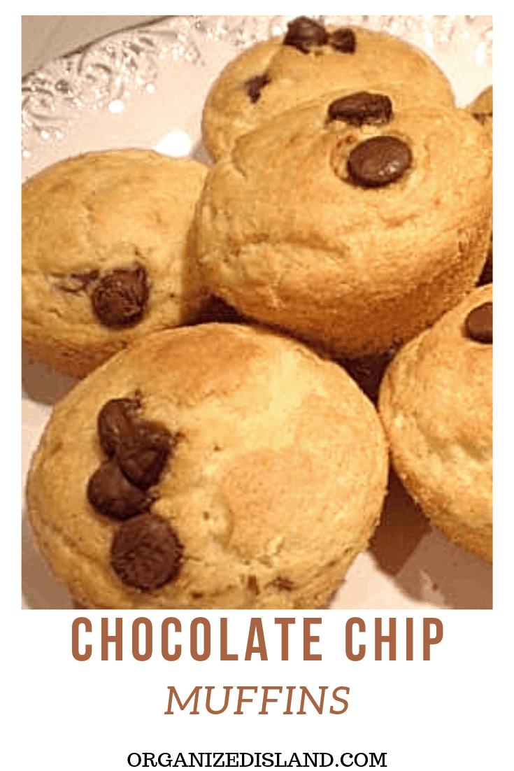 Chocolate Chip Muffin recipe easy