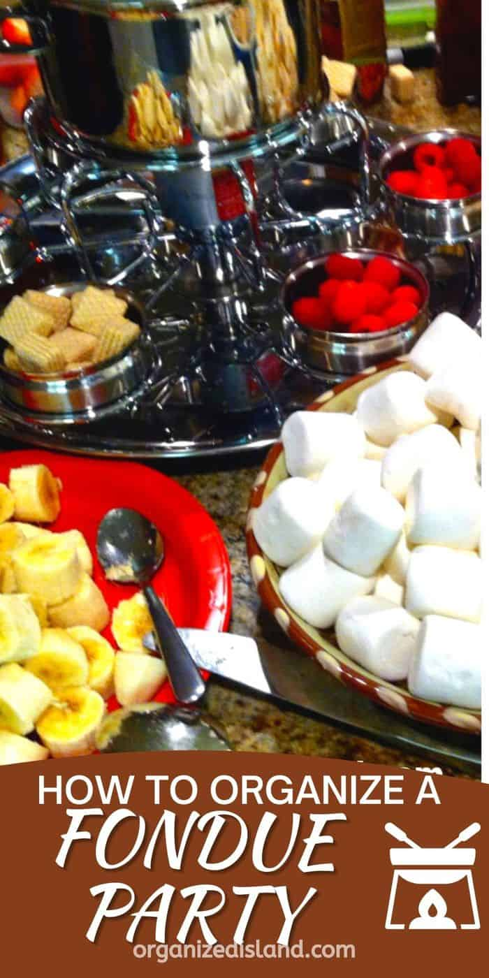 How to organize a fondue party