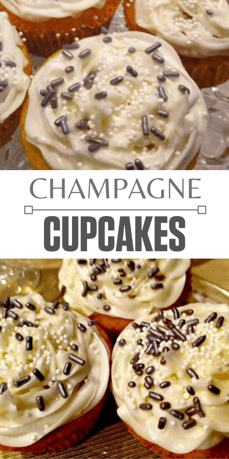 Champagne Cupcake Recipes