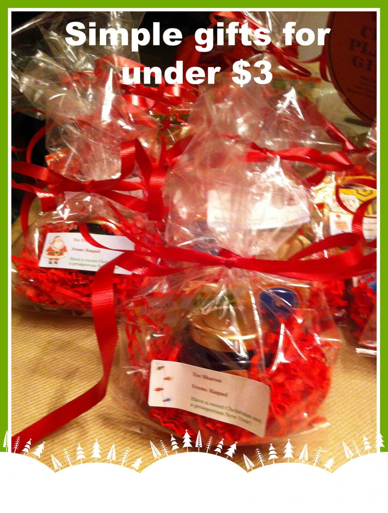 Inexpensive holiday gifts for Cheap and easy gift ideas