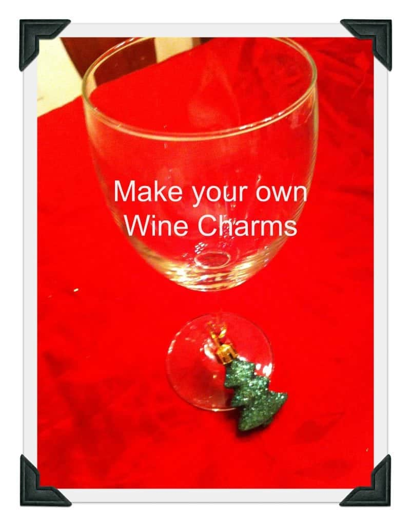 Dollar Store Wine Charms