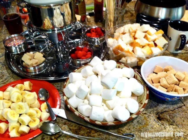fondue party food