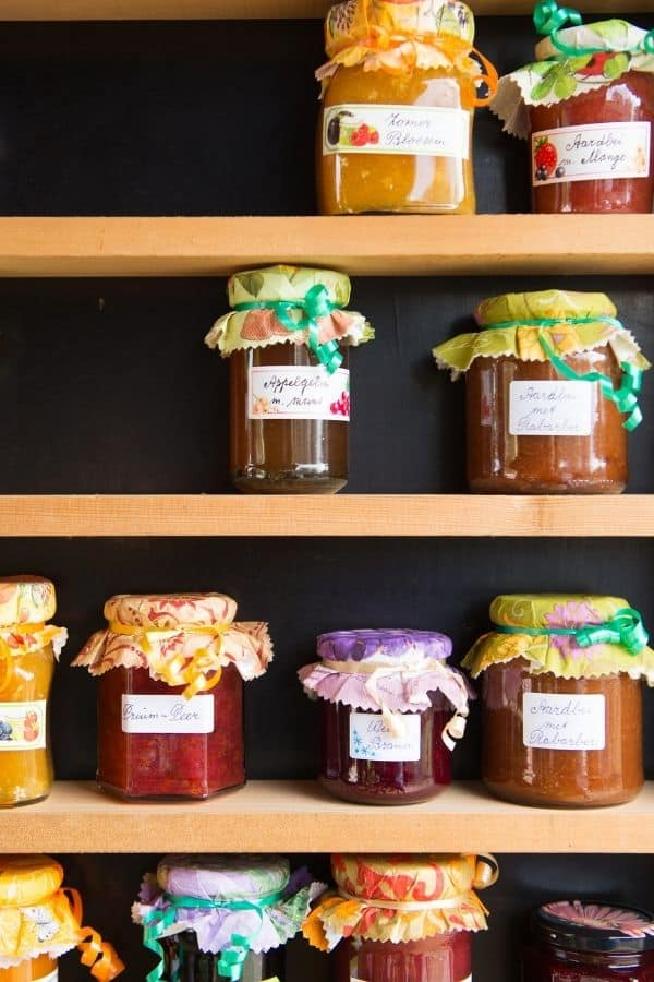 jam and jellies