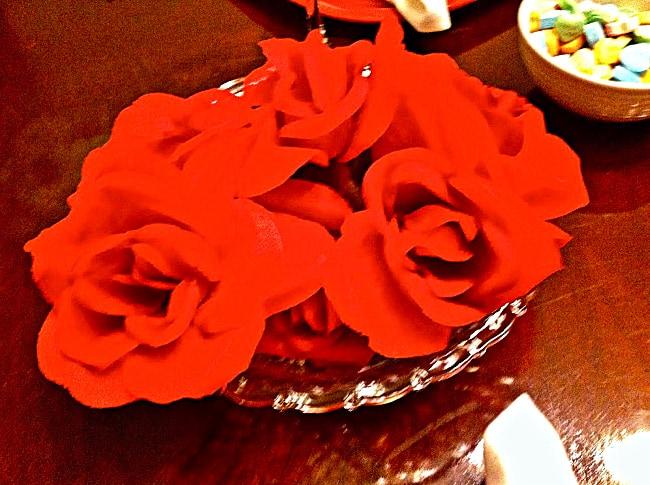 dollar store flowers valentines