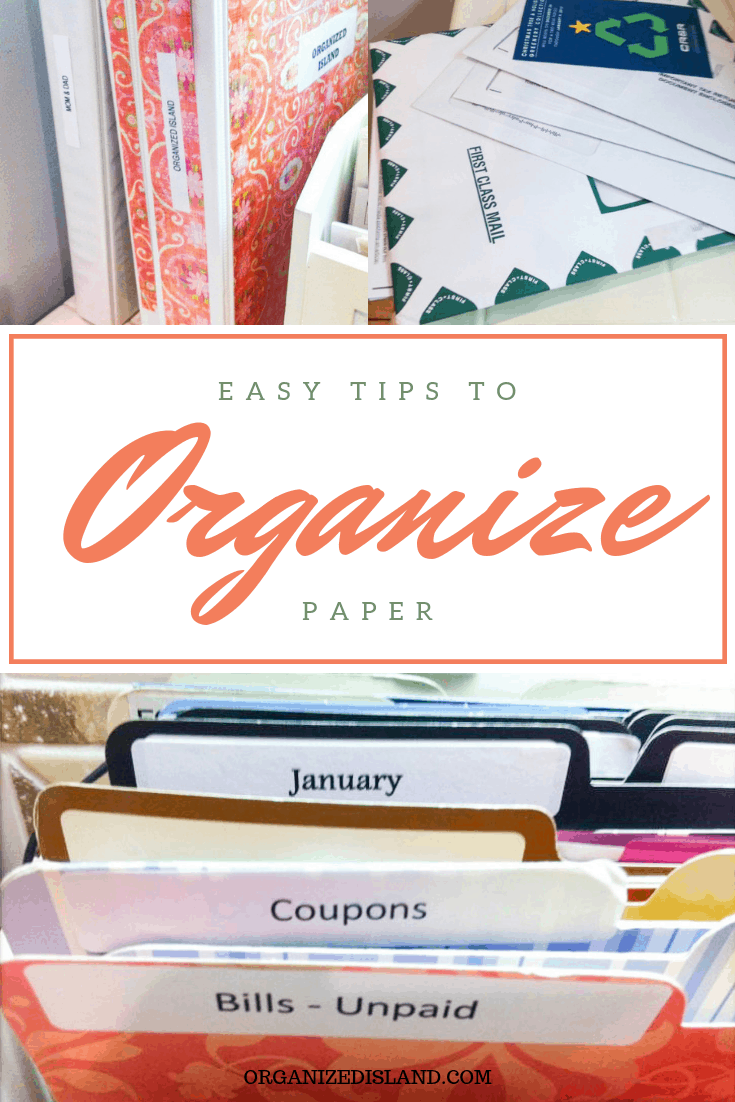 Easy Paper Organization