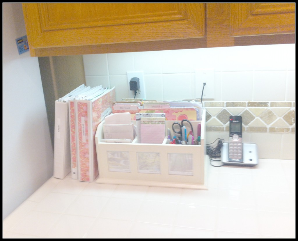 Eliminate paper clutter, and use a box for paper organization