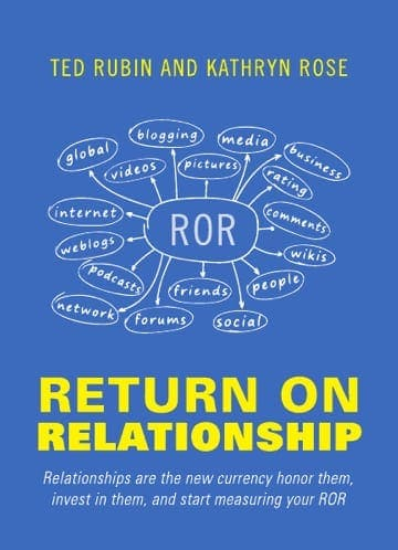 Next Book On My List: Return On Relationships #RonR