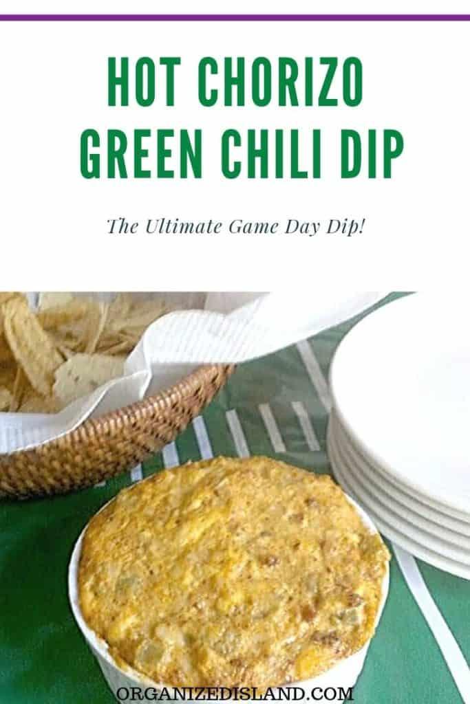 hot chorizo dip