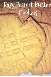 peanut butter cookies easy