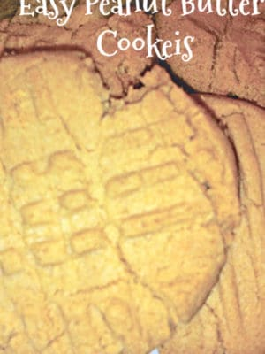 peanut butter cookies easy