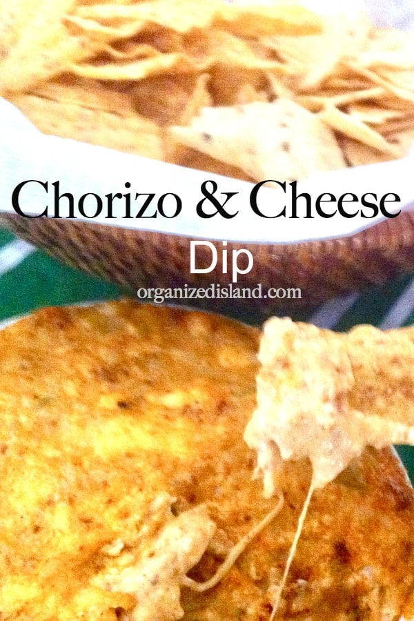 hot chorizo cheese dip