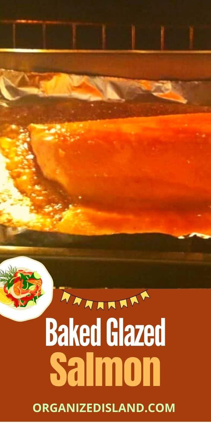 Baked Glazed Salmon