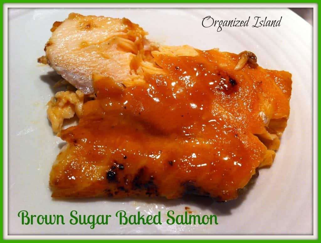 This easy baked salmon is a great meatless meal option! It is ready in less than 30 minutes!
