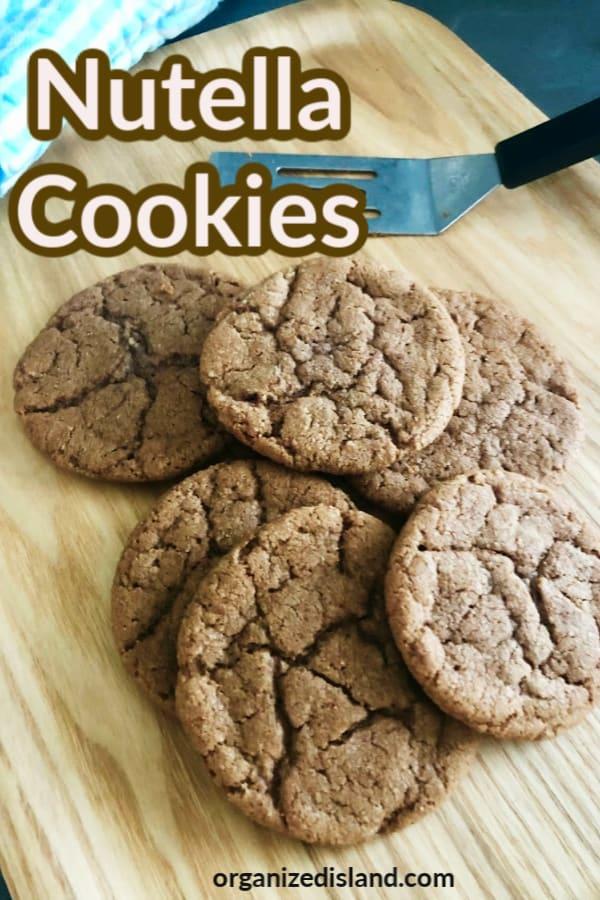 Best Nutella cookie recipe