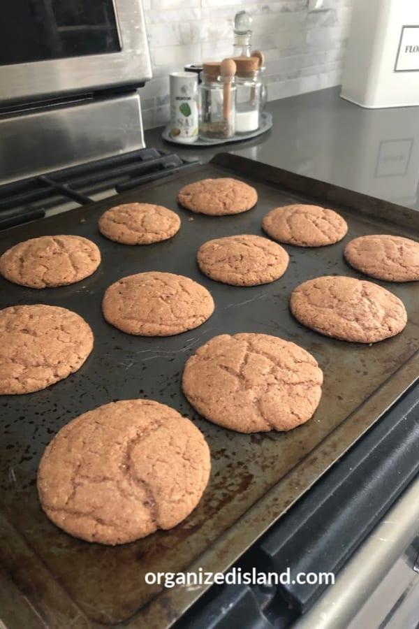 baked Nutella Cookies