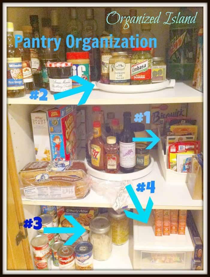 Organizing Kitchen Pantry Kitchen Pantry Organization Organized Island