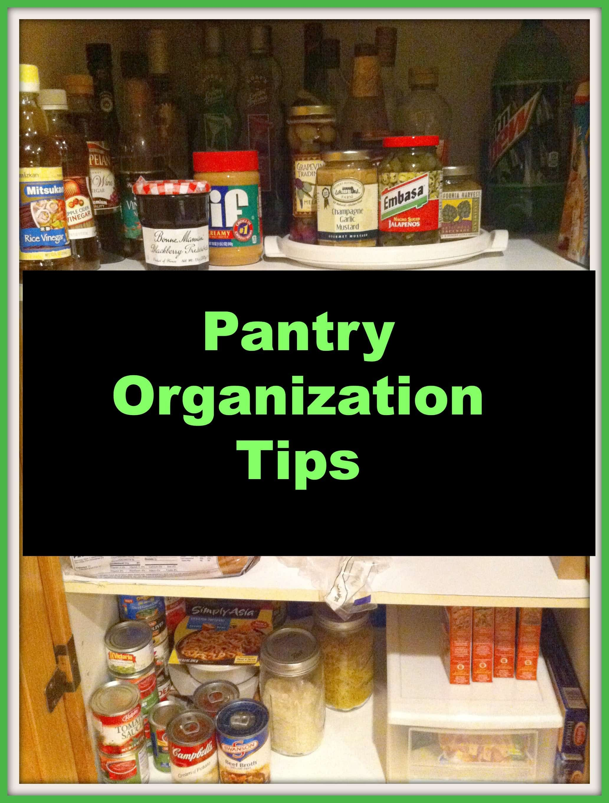 Pantry Ideas To Help You Organize Your Kitchen: Kitchen Pantry Organization