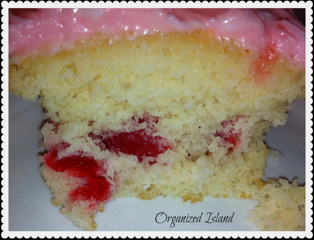 flavored cupcakes, cherries