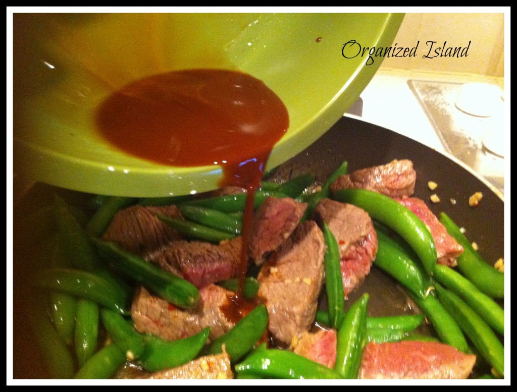 Beef and Snap Peas - Adding Sauce.jpg