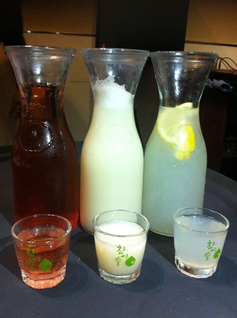 Pomegranate,Yogurt and Lemon Soju