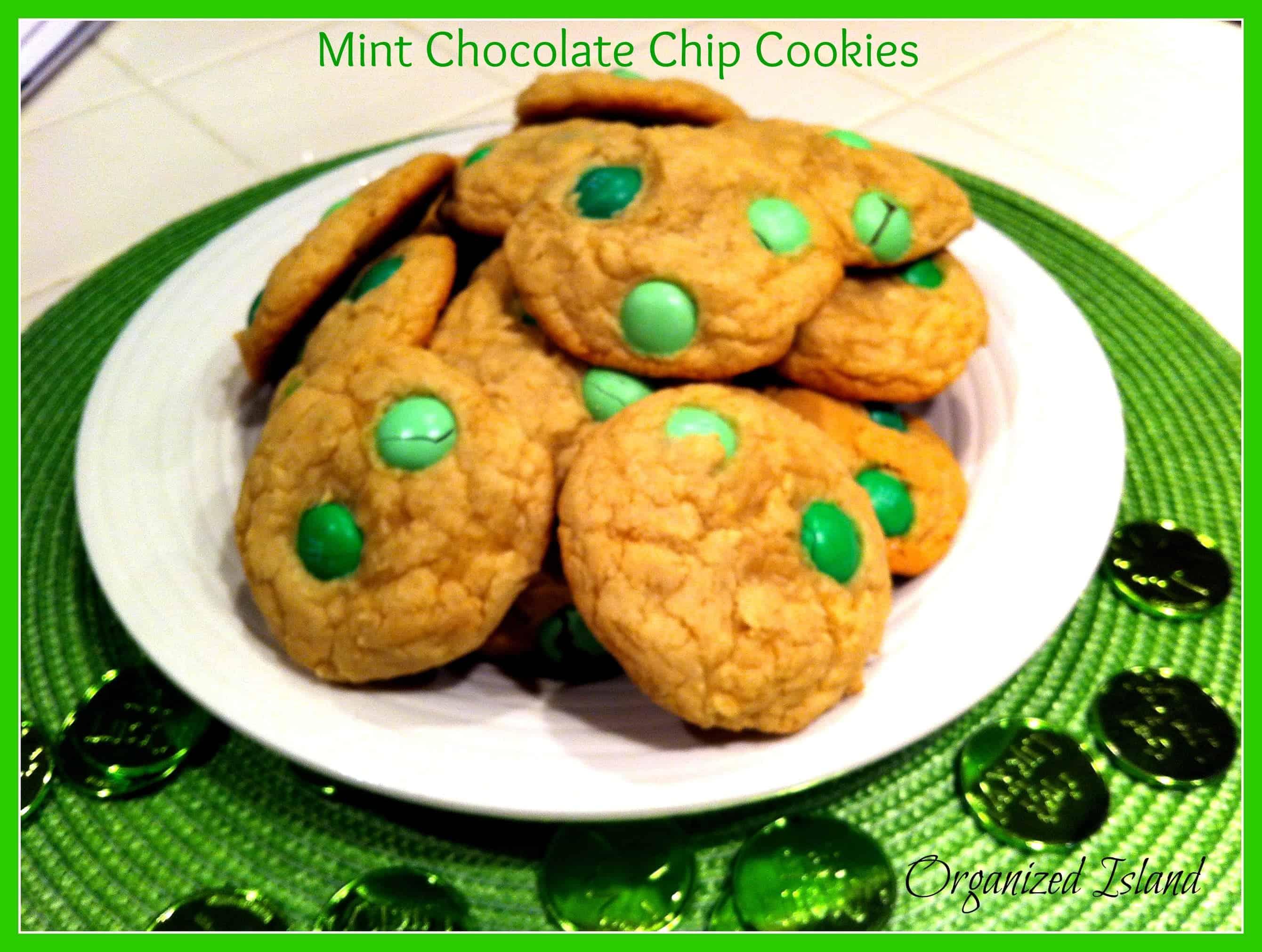 Easy Mint Cookies