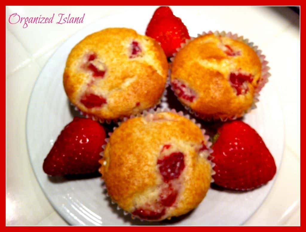 Simple fruit #muffin r#ecipe